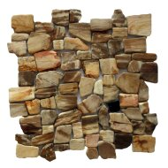 Mozaïek Hout Petrified Wood 30x30 cm (Prijs per 1m²)