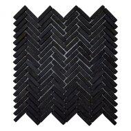 Mozaiek Parquet 30x30 cm Marmer Zwart (doosinhoud 1 m2)