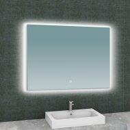 Spiegel Wiesbaden Soul Rechthoek met LED Verlichting Backlight 100 cm
