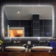Badkamerspiegel Boss & Wessing Aspen met LED Verlichting en Spiegelverwarming 80x70 cm
