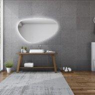 Spiegel Gliss Design Trendy Oval LED Verlichting 90cm
