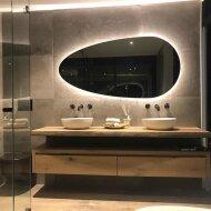 Badkamerspiegel Martens Design Joling 140 cm met Indirect LED Verlichting Rondom
