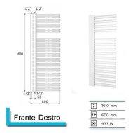 Designradiator Boss & Wessing Franto Dastro 1610 x 600 mm  | Tegeldepot.nl