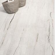 Vloertegel Timewood White 30x120 cm