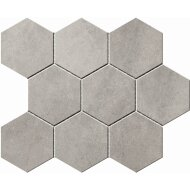 Hexagontegel Cristacer Umbria Grey 35.5x29.2 cm