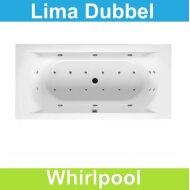 Ligbad Riho Lima 190 x 90 cm Whirlpool Dubbel systeem