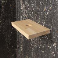 Fontein Plank Boss & Wessing Alice 35x22x3 cm Beukenhout Gelakt