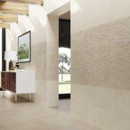 Wandtegel Cristacer Creta Decor M-195 33x60 cm Porselein Beige (Doosinhoud: 1,00 m2)