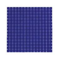 Mozaïek Amsterdam Basic 32.2x32.2 cm Glas Met Fijne Korrels Kobalt Blauw (Prijs Per 1.04 m2)
