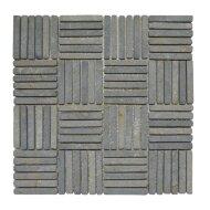 Mozaiek Parquet 30x30 cm Marmer Grijs (doosinhoud 1 m2)