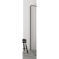 Zijwand voor Inloopdouche BWS Pure Day 70x200 cm Zwart Profiel