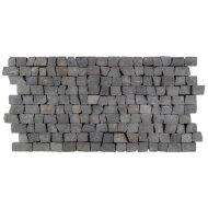Mozaiek Brick Mosaic Blue Tumble Marmer 30x15mm (Prijs per 1m²)