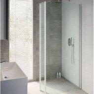 Bruynzeel Inloopdoucheset Lector 100 x 210 cm 8 mm Helder Glas Met Zijwand Stabilisatiestang Aluminium