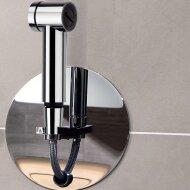 Inbouw Doucheslang Roll-in Shower Luca met Knijp Handdouche Chroom