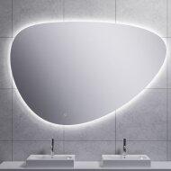 Badkamerspiegel Boss & Wessing Luma Dimbare LED Verlichting Condensvrij 140x95 cm