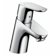 Hansgrohe Focus Wastafelkraan Met Push Open Chroom