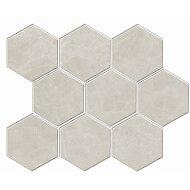 Hexagontegel Cristacer Capitolina Ash 29.2x29.2 cm (Per m2)