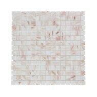 Mozaïek Amsterdam Goud 32.2x32.2 cm Glas Met Goude Ader En Crème (Prijs Per 1.04 m2)