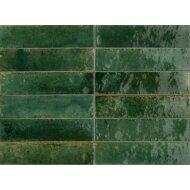 Wandtegel Piet Boon Glaze Tile Green 6x24 cm Groen (Doosinhoud: 0,52 m²)