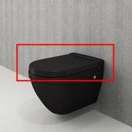 Toiletzitting Bocchi Scala Mat Zwart