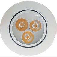 Inbouw Spotlamp Sanimex 85x45 mm Inclusief Armatuur en Gu10 3 Watt Wit (4 stuks)