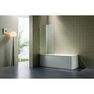 B&w-luxury Bagno Badwand 80x140cm. Chroom-helder Clean