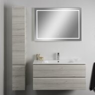 Badkamerspiegel Xenz Sirmione 300x70cm met Rondom Ledverlichting en Spiegelverwarming