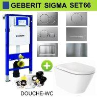 Geberit UP320 Toiletset set66 Wiesbaden Vesta-ECO Randloos