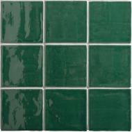 Wandtegel Oud Hollandse witjes Oud Groen 13x13 cm (Doosinhoud 0,5 M²)