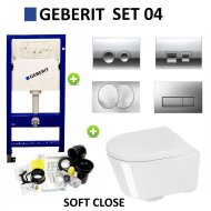 Geberit up100 set04 Calitri Urby compact met Delta drukplaten