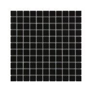 Mozaïek Barcelona 30x30 cm Geglazuurd Porselein Mat Zwart (Prijs Per 0.90 m2)