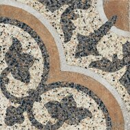 Terrazzo tegels Casale Siena cotto 25x25 (Doosinhoud 0,25 M²)