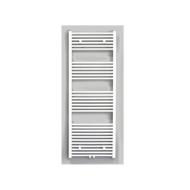 Radiator Sanicare Middenaansluiting Recht 1056 Watt Inclusief Ophanging 160x60 cm Wit