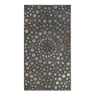 Vloertegel Cristacer Leiden Negro Decorado 33x60cm (Doosinhoud 0.59m²)