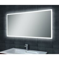 Spiegel Wiesbaden Quatro dimbare LED condensvrij 70x50cm