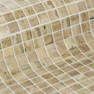Mozaiek Ezarri Zen Travertino 2,5x2,5 cm (Doosinhoud 2 m²)