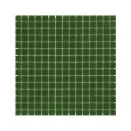 Mozaïek Amsterdam Basic 32.2x32.2 cm Glas Met Fijne Korrels Donker Groen (Prijs Per 1.04 m2)