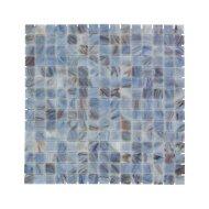 Mozaïek Amsterdam Goud 32.2x32.2 cm Glas Met Goude Ader Cyaan (Prijs Per 1.04 m2)