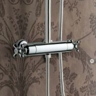 Hotbath Amice opbouw douche thermostaat met omstel chroom A016CR