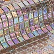 Mozaiek Ezarri Iris Nacar 2,5 2,5x2,5 cm (Doosinhoud 2 m²)