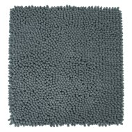 Badmat Differnz Chenille Shaggy Antislip 60x60 cm Microfiber Grijs