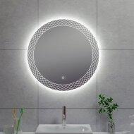 Badkamerspiegel Boss & Wessing Madri Rond LED Verlichting Condensvrij 100 cm