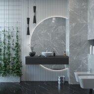 Badkamermeubelset Gliss Design Calypso 120 cm Zwart Eiken