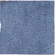Vtwonen Wandtegel Craft Midnight Blue Glans Deco 12.4x12.4 cm (Doosinhoud 0.42 m2)
