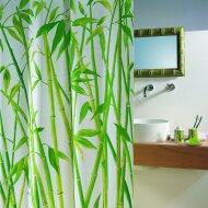 Douchegordijn Allibert Spirella Bambus groen 180x200cm