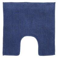 Toiletmat Differnz Candore Antislip 60x60 cm Microfiber Donker Blauw