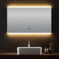 Badkamerspiegel Casajoy 100x70cm met Ledverlichting en Anticondens