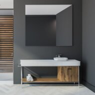 Spiegel Gliss Design Basic Zonder Verlichting 140cm