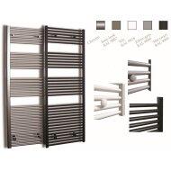 Radiator Sanicare Standaard Recht 1127 Watt Inclusief Ophanging 60x172 cm Chroom