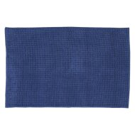 Badmat Differnz Candore Antislip 60x90 cm Microfiber Donker Blauw